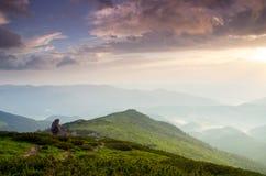Mountain plateau landscape Royalty Free Stock Photography