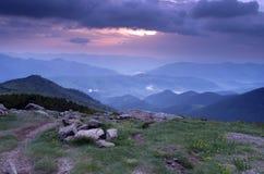 Mountain plateau landscape Stock Photography