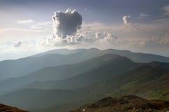 Mountain plateau landscape Stock Images