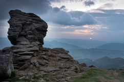 Mountain plateau landscape Royalty Free Stock Image