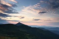 Mountain plateau landscape Stock Photo