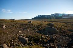 Mountain plateau Valdresflye, Jotunheimen Royalty Free Stock Photos