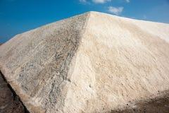 Mountain Pomorie salt Stock Image