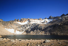 Mountain pond Royalty Free Stock Images