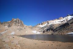 Mountain pond stock photos