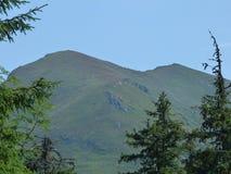 The mountain of pope Ivan Marmaros. Stock Photo