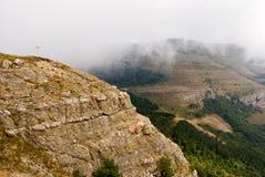 Mountain precipice Stock Images