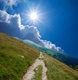 Mountain precipice Stock Photo