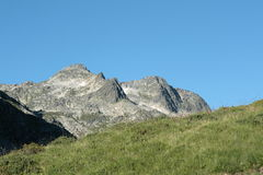 Mountain in Pyrenees Royalty Free Stock Images