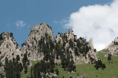 Mountain in Pyrenees Royalty Free Stock Photography