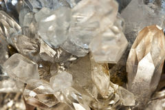 Mountain quartz crystal Royalty Free Stock Photography