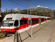 Mountain Railway, High Tatras, Slovakia Royalty Free Stock Image