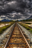 Mountain Railway Royalty Free Stock Photography