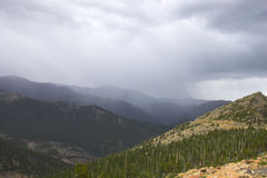 Mountain rain Royalty Free Stock Photo