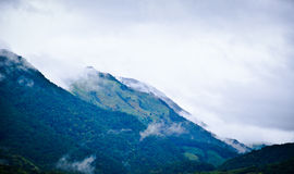 Mountain. The mountain after rain is foggy Stock Photography