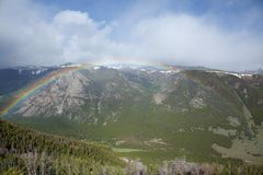 Mountain Rainbow Royalty Free Stock Images