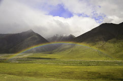 Mountain rainbow Stock Photo