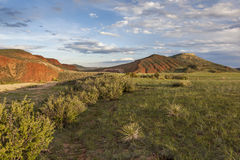 Mountain ranch. Landscape in Colorado - Red Mountain Open Space Stock Image