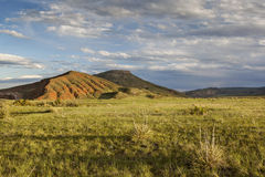 Mountain ranch. Landscape in Colorado - Red Mountain Open Space Stock Images