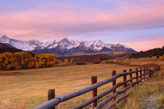 Mountain Ranch Royalty Free Stock Images