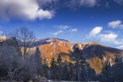 Mountain range Royalty Free Stock Photography