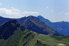 Mountain range in the Allg�u Alps in Bavaria Stock Images