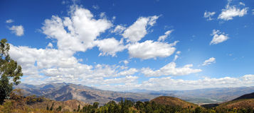 Mountain Range in the Andes of Peru Royalty Free Stock Images