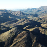 Mountain range, Arizona. Royalty Free Stock Image