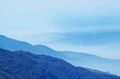 Mountain range background Stock Image
