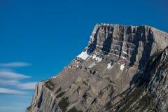 Mountain range in Banff royalty free stock images