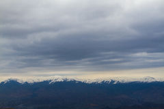 Mountain range. Beautiful mountain range in  Armenia Stock Photo