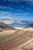 The Mountain Range in Death Valley National park in California, Royalty Free Stock Image