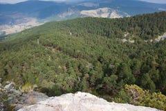Mountain range of The Demanda Stock Photography