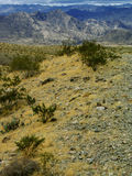 Mountain Range In The Distance. This image was taken just 10 miles South of the Hoover Dam Royalty Free Stock Photos
