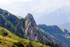 Mountain range Royalty Free Stock Images