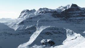 Mountain Range 2 stock footage
