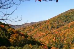 Mountain Range In Smokey Mount Royalty Free Stock Photo