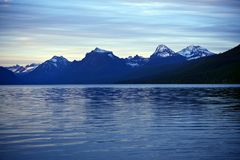 Mountain Range and Lake Royalty Free Stock Photography