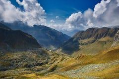 Mountain range landscape Royalty Free Stock Photo