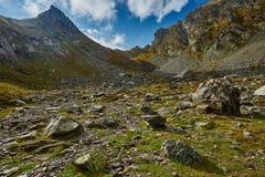 Mountain range landscape Royalty Free Stock Image