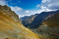 Mountain range landscape Stock Photo