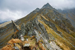 Mountain range landscape Royalty Free Stock Images