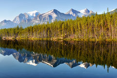 Mountain Range Landscape Canada royalty free stock photography