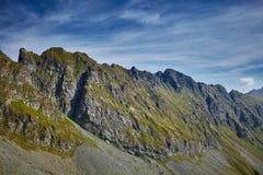 Mountain range landscape Stock Images