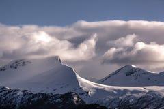 Mountain range landscape view in Stranda, Norway