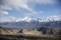 Mountain range, Leh Royalty Free Stock Photography
