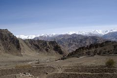 Mountain range, Leh Royalty Free Stock Photo