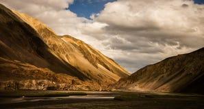 Mountain range at Leh Ladakh Stock Image