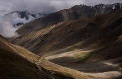 Mountain range at Leh Ladakh Royalty Free Stock Photo