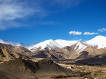 Mountain range, Leh, Ladakh, India Stock Photos